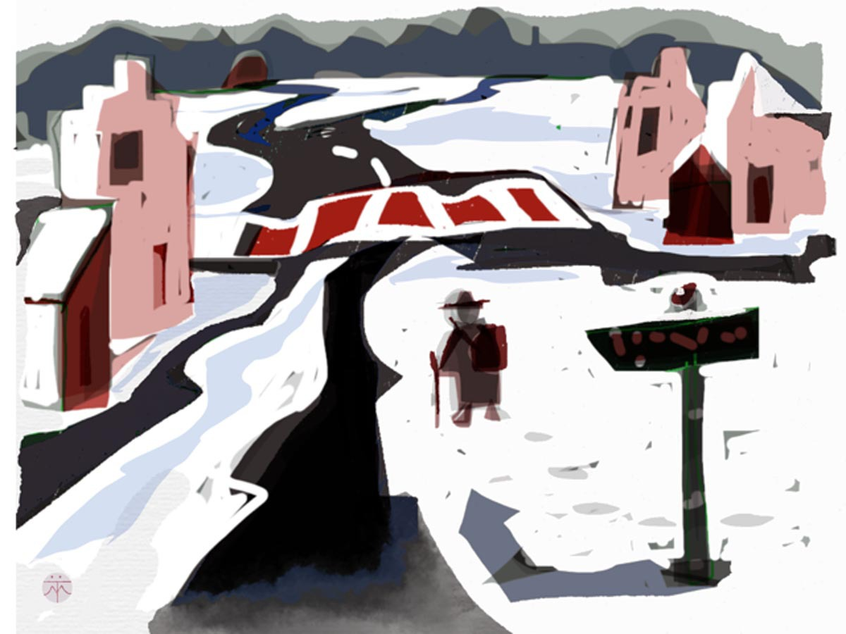 uit de serie Winterreise