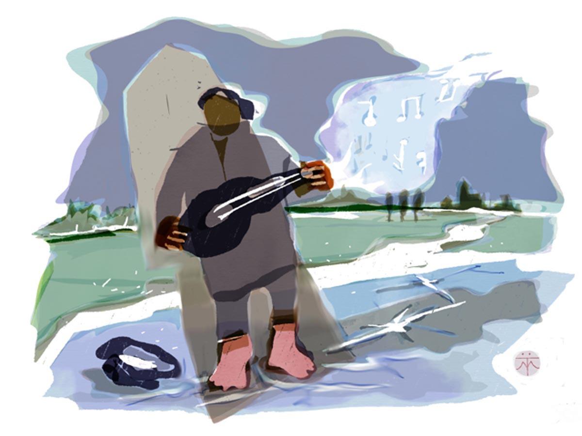 uit de serie winterreise 2
